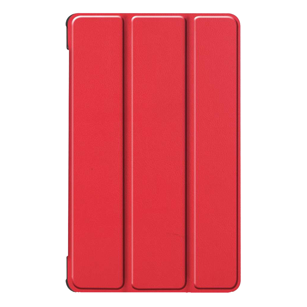Tweedekans Just in Case Smart Tri-Fold Lenovo Tab M8 FHD Book Case Rood