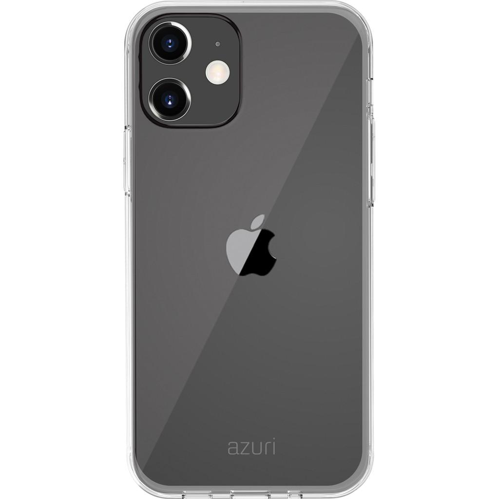 Azuri TPU Apple iPhone 12 mini Back Cover Transparant