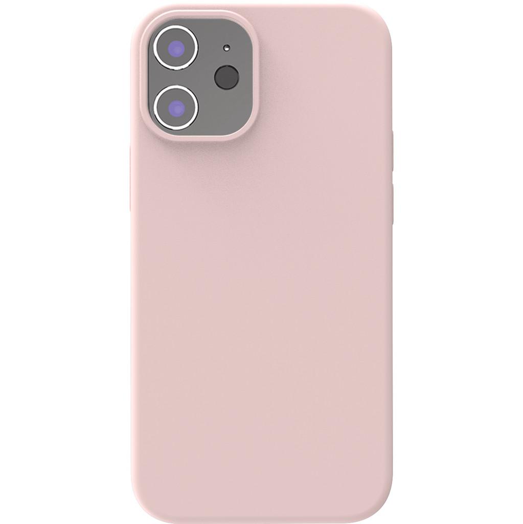 Azuri Back Cover iPhone 12 mini Siliconen Back Cover Roze