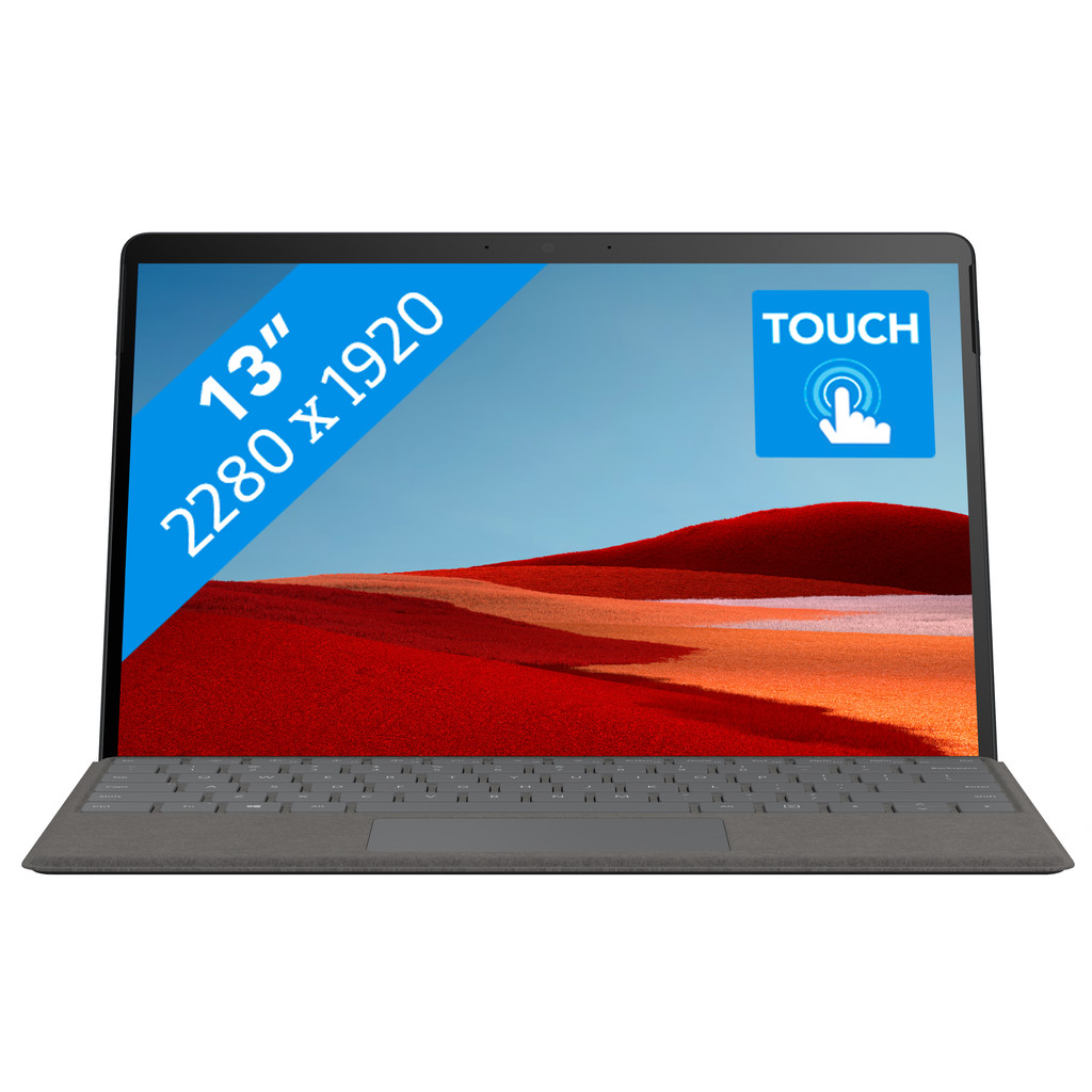 Tweedekans Microsoft Surface Pro X - SQ2 - 16GB - 512GB Platinum