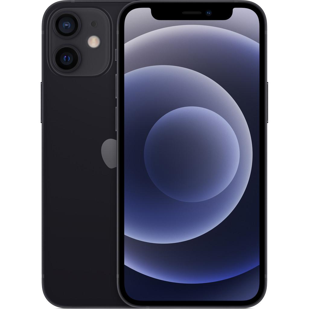 Tweedekans Apple iPhone 12 mini 128GB Zwart