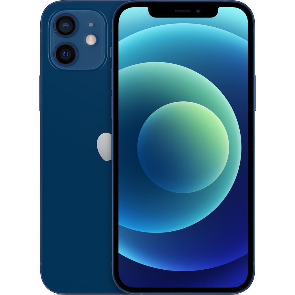 Tweedekans Apple iPhone 12 64GB Blauw Tweedehands