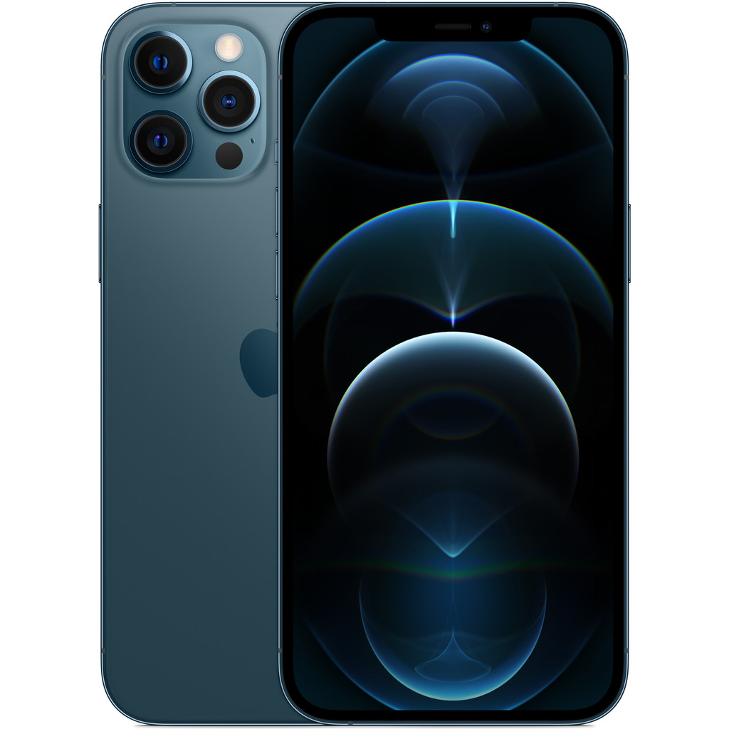 Tweedekans Apple iPhone 12 Pro Max 128GB Pacific Blue