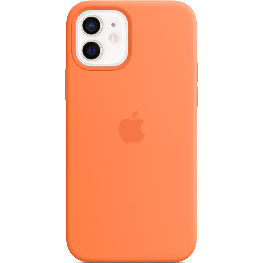 APPLE iPhone 12-12 Pro Siliconen Case Kumquat