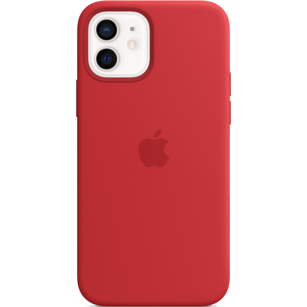 APPLE iPhone 12-12 Pro Siliconen Case (PRODUCT)RED