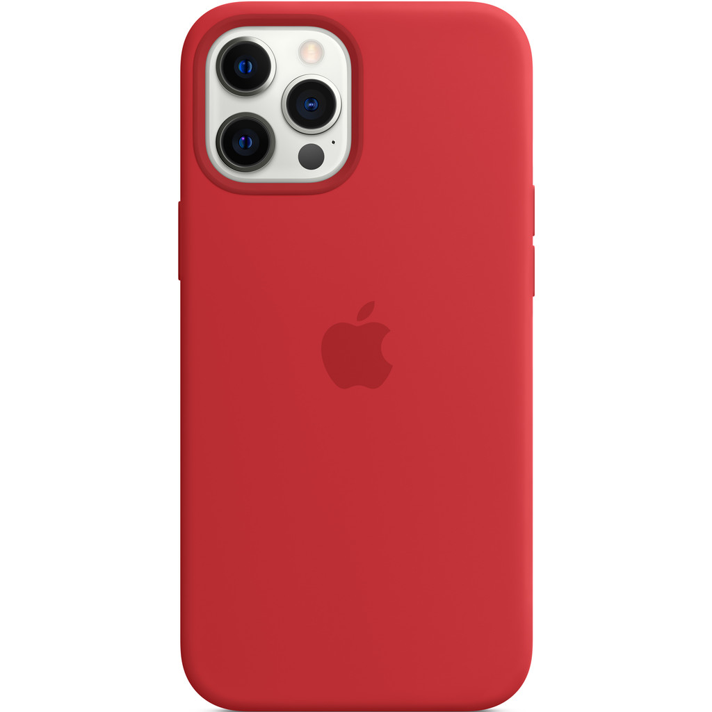 APPLE iPhone 12 Pro Max Siliconen Case (PRODUCT)RED
