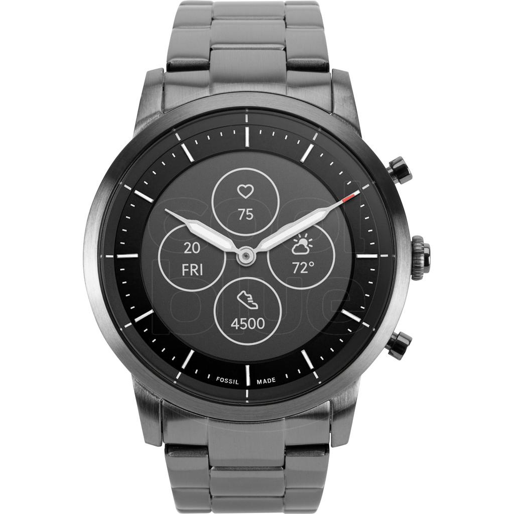 Tweedekans Fossil Collider Hybrid HR Smartwatch FTW7009 Grijs