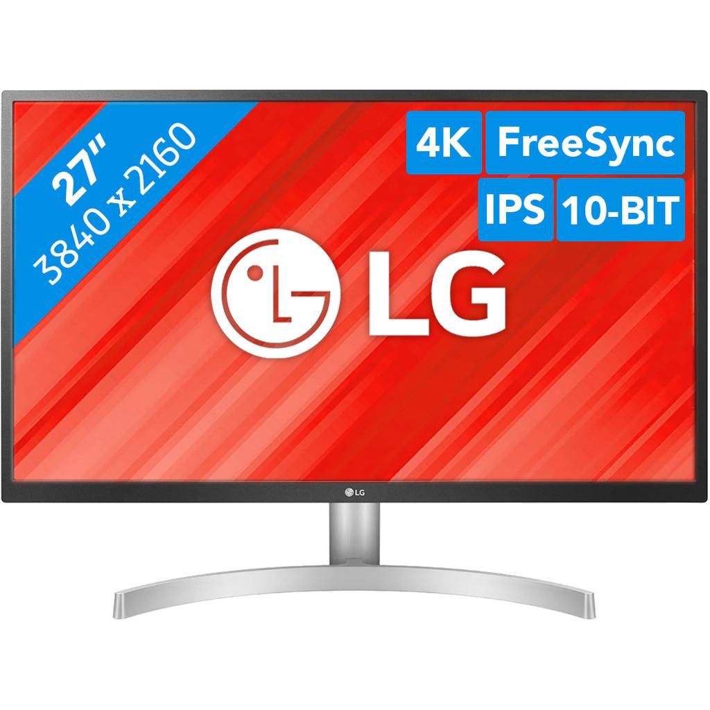 LG 27UL500-27 inch  3840 x 2160 resolutie  HDMI, DisplayPort, hoofdtelefoon