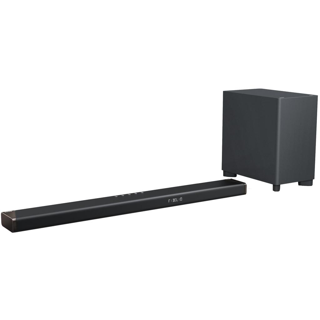 Philips Fidelio SoundBar met draadloze subwoofer B95-10 (Zwart)