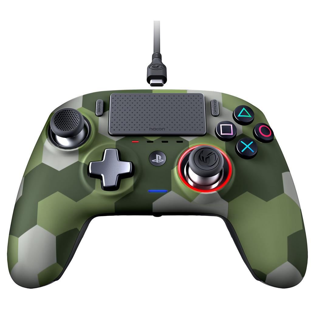 Tweedekans Nacon Revolution Pro 3 Official PS4 Controller Camo Groen
