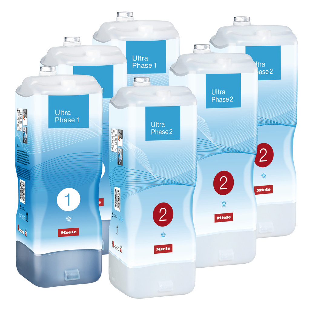 Miele Set UltraPhase 1 & 2 (6 flacons) - halfjaarpakket