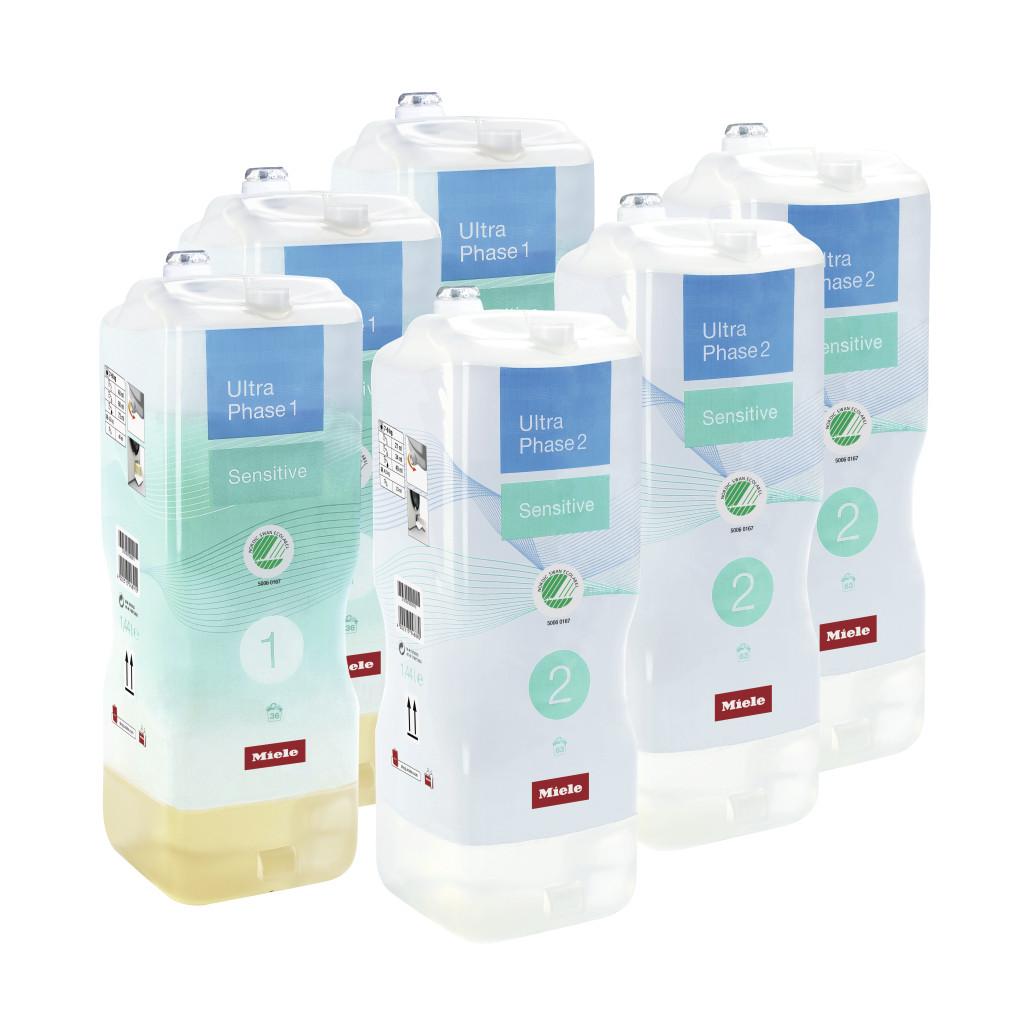 Miele Set UltraPhase Sensitive 1 & 2 (6 flacons)