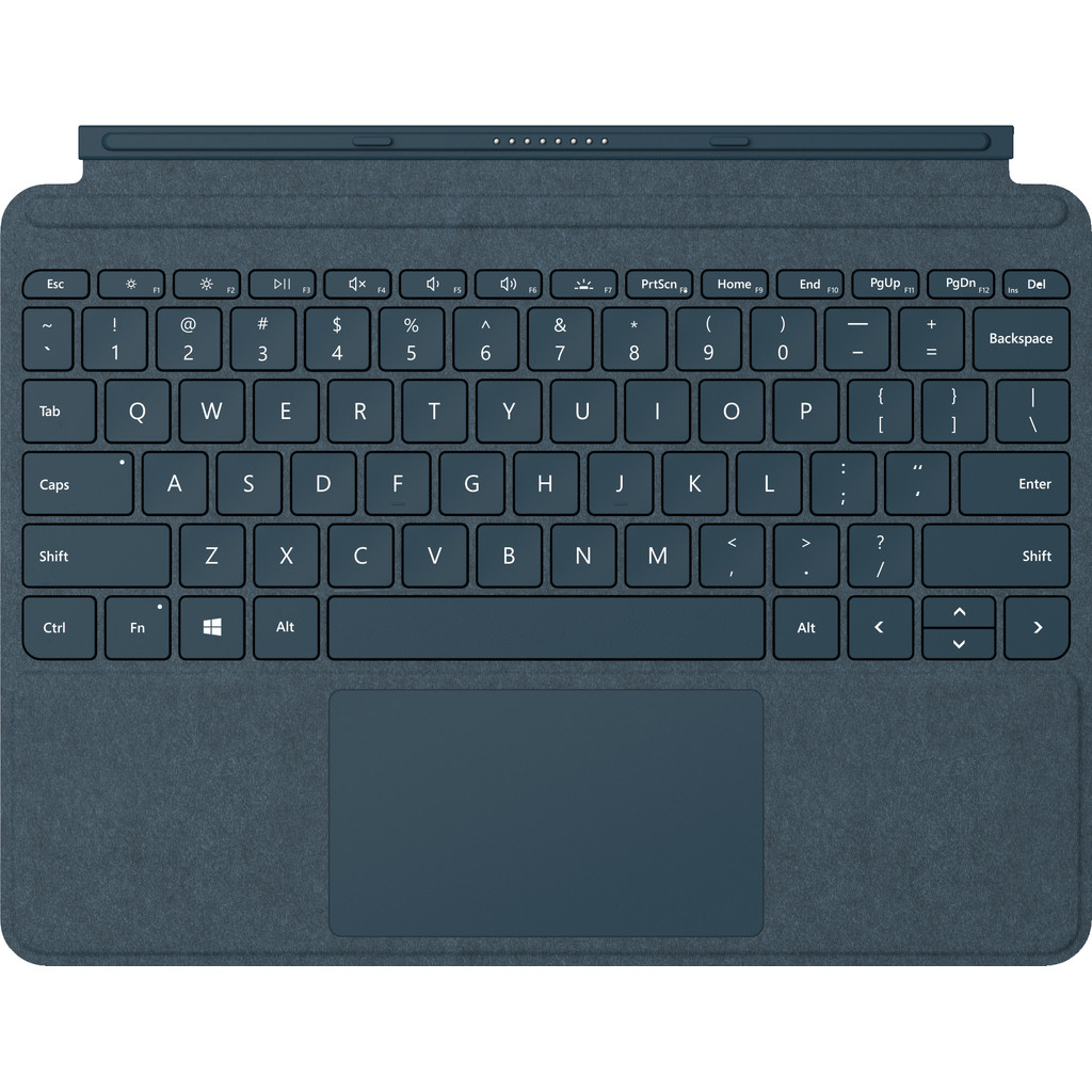 Tweedekans Microsoft Surface Go Type Cover QWERTY Blauw
