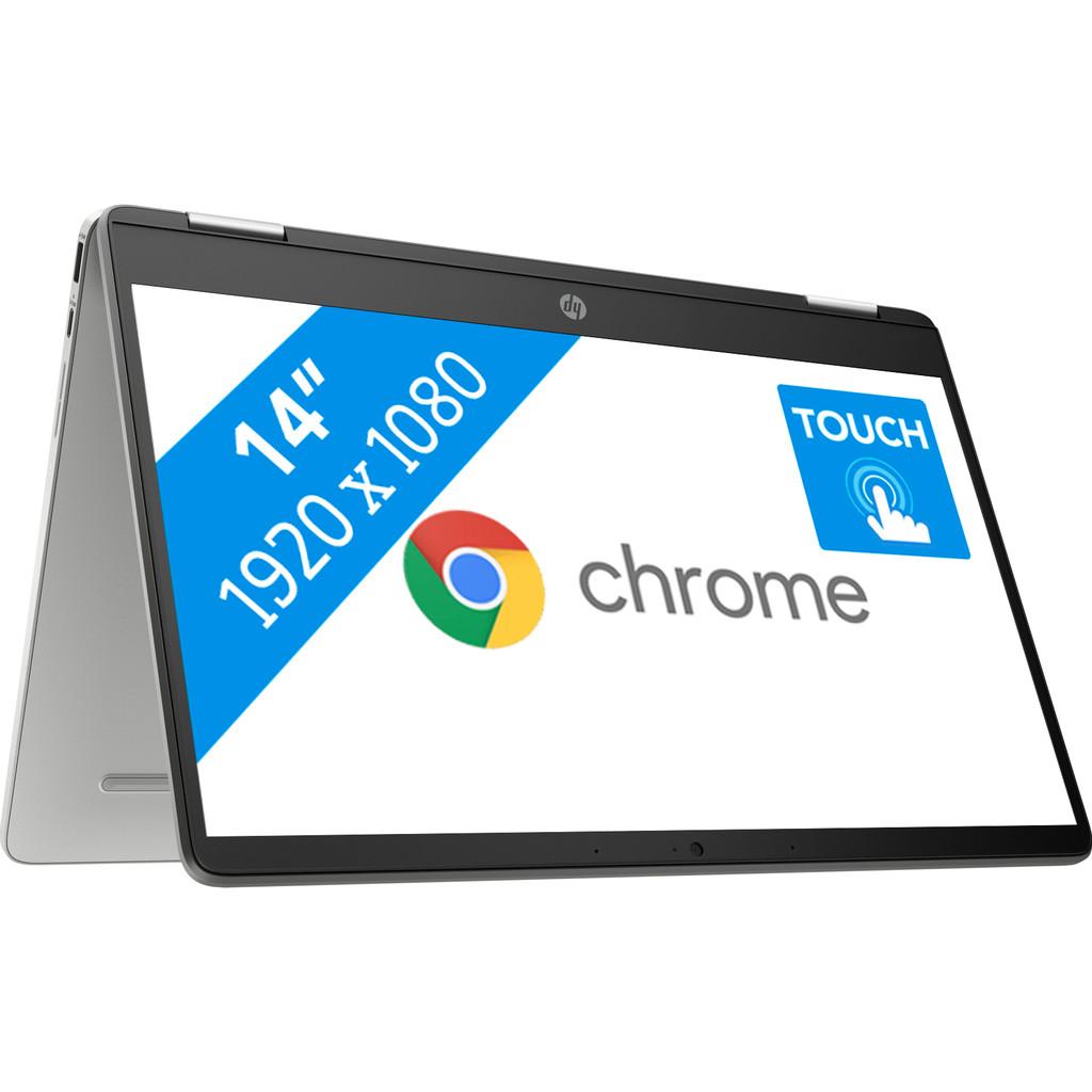Tweedekans HP Chromebook x360 14a-ca0100nd Tweedehands