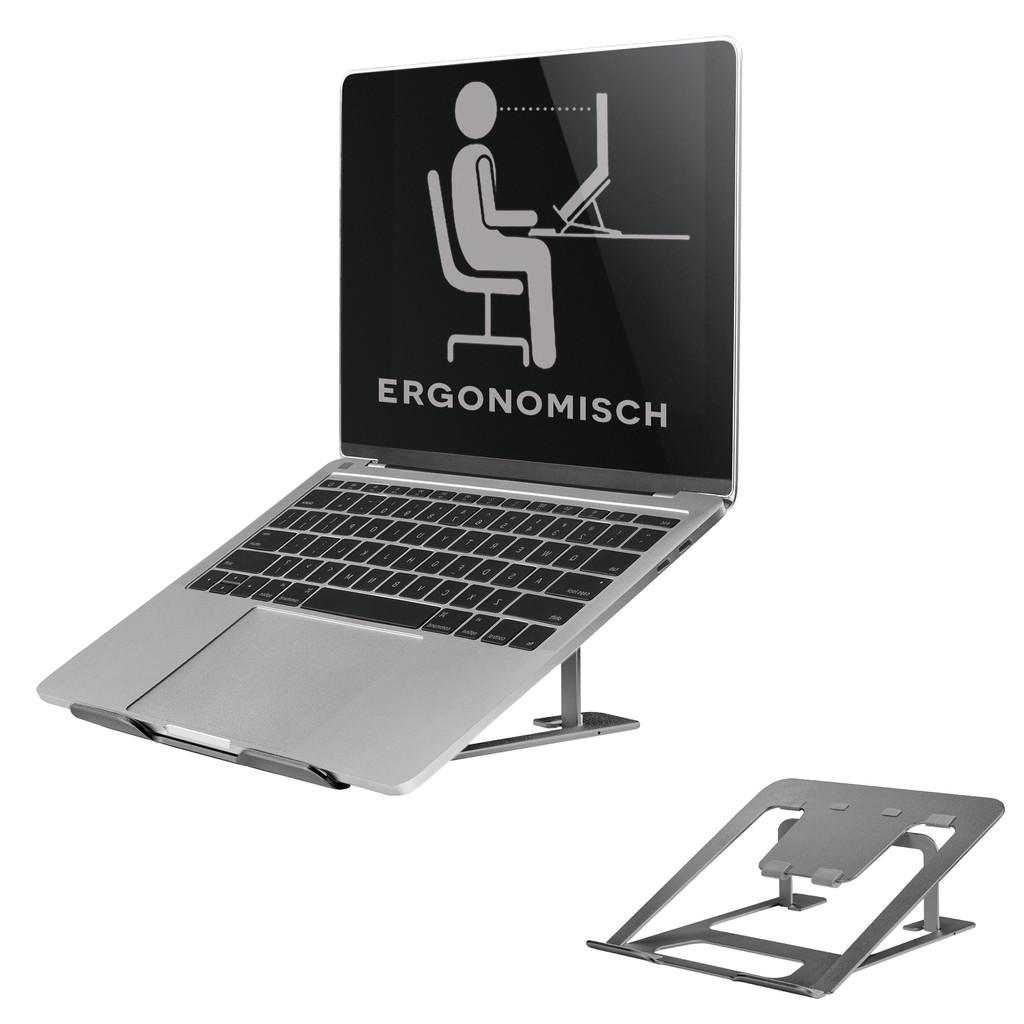 NewStar Opvouwbare Laptopstandaard NSLS085 Grijs
