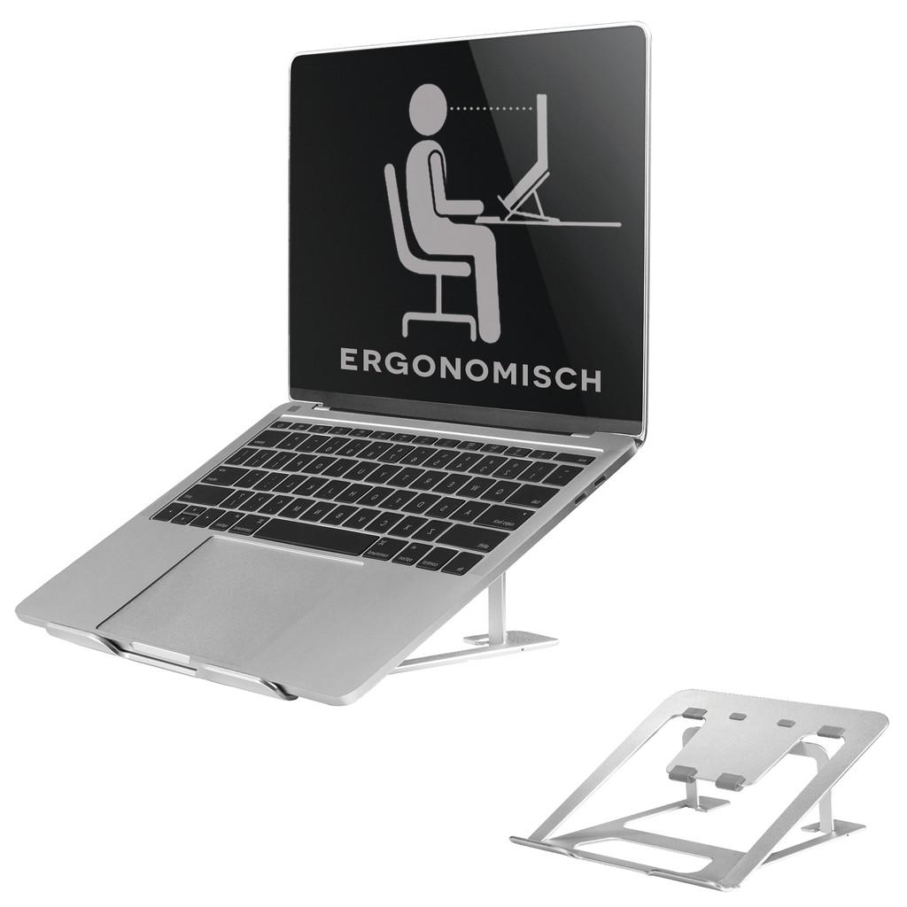 NewStar Opvouwbare Laptopstandaard NSLS085 Zilver