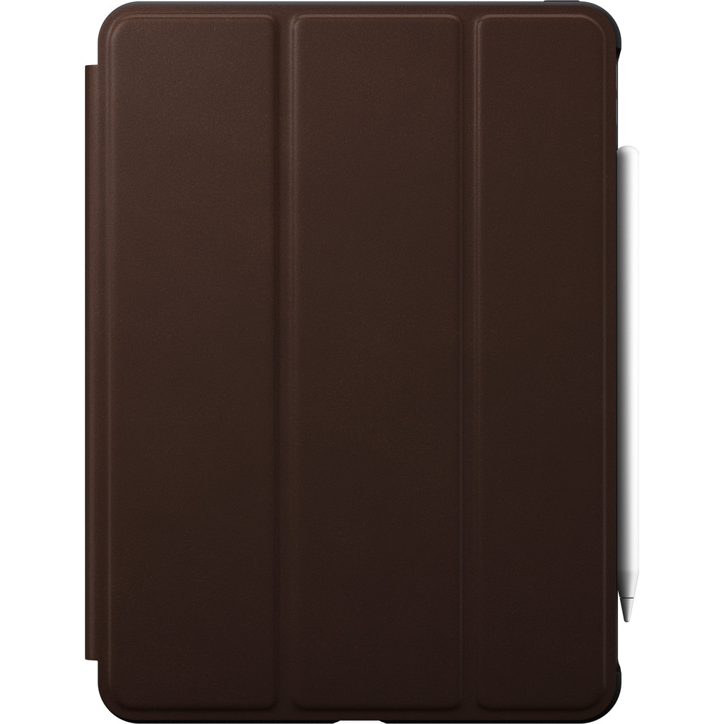 Tweedekans Nomad Rugged Apple iPad Pro 11 inch (2021/2020) Book Case Bruin Leer Tweedehands