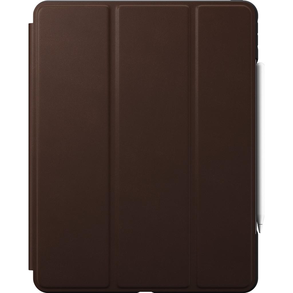 Tweedekans Nomad Rugged Apple iPad Pro 12.9 inch (2020)/(2018) Book Case Bruin Leer Tweedehands