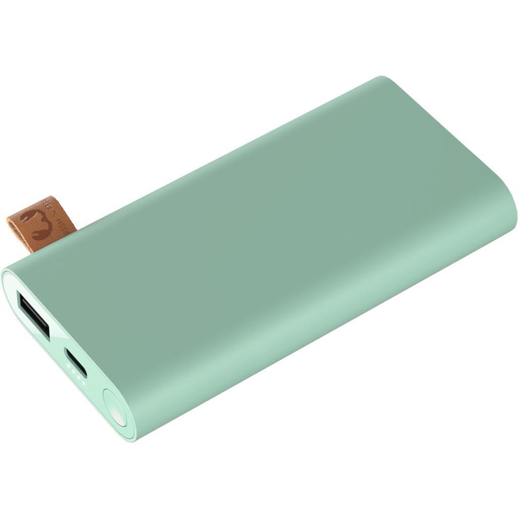 FRESH 'N REBEL Powerbank 6000 mAh USB-C Groen
