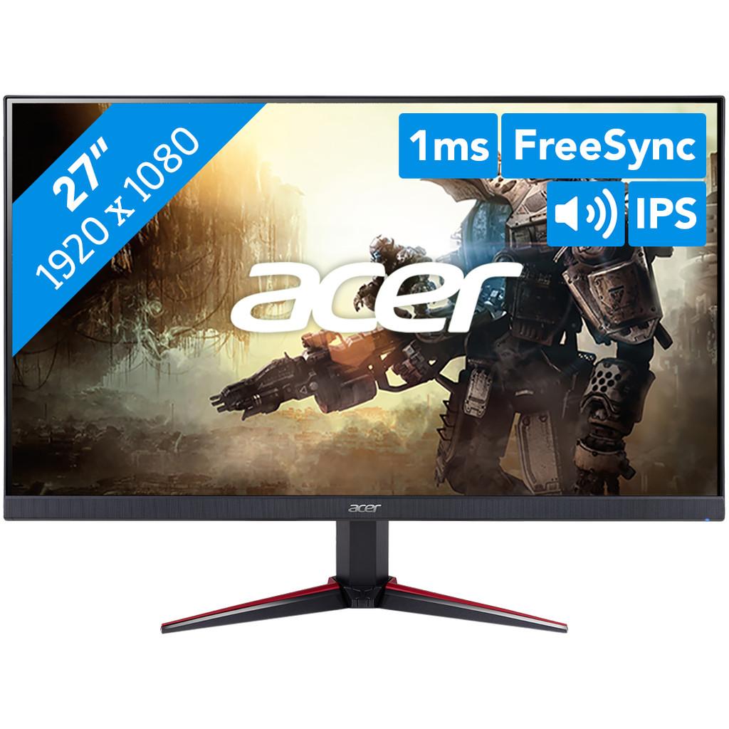 Acer Nitro VG0 27  Full HD IPS Flat Zwart computer monitor