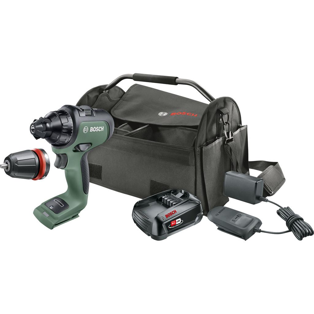 Bosch AdvancedDrill 18V + 1x Bosch 18V 2,5 Ah Starterset + g