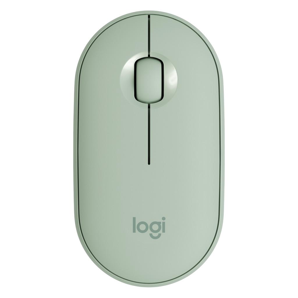 Logitech Pebble M350 Draadloze Muis Groen