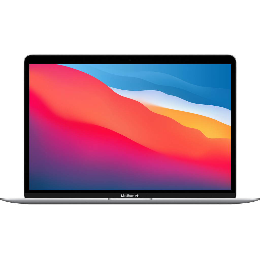 Tweedekans Apple MacBook Air (2020) 16GB/256GB Apple M1 met 7 core GPU Zilver