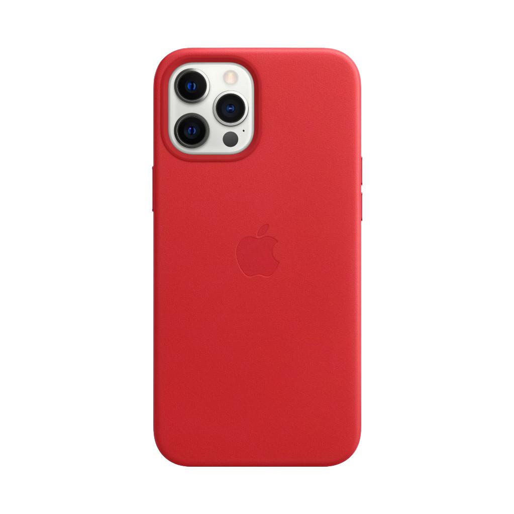 Tweedekans Apple iPhone 12 Pro Max Back Cover met MagSafe Leer RED