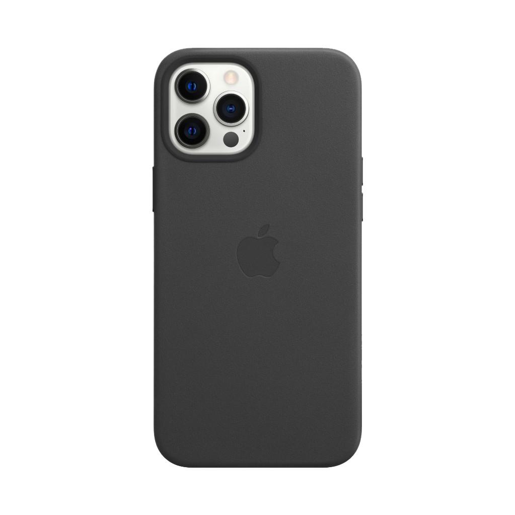 Tweedekans Apple iPhone 12 Pro Max Back Cover met MagSafe Leer Zwart