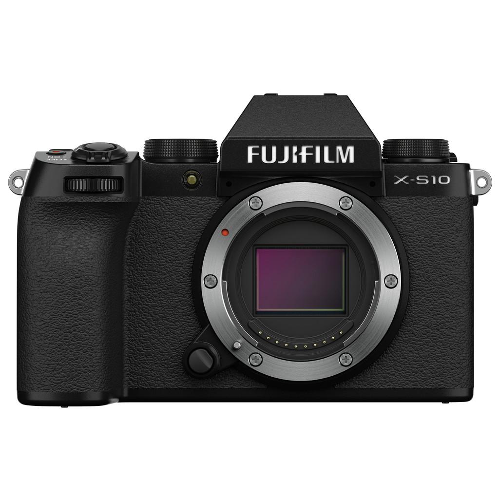 Fujifilm X-S10 Body Zwart-26,1 megapixels  Filmt in 4K resolutie  APS-C beeldsensor