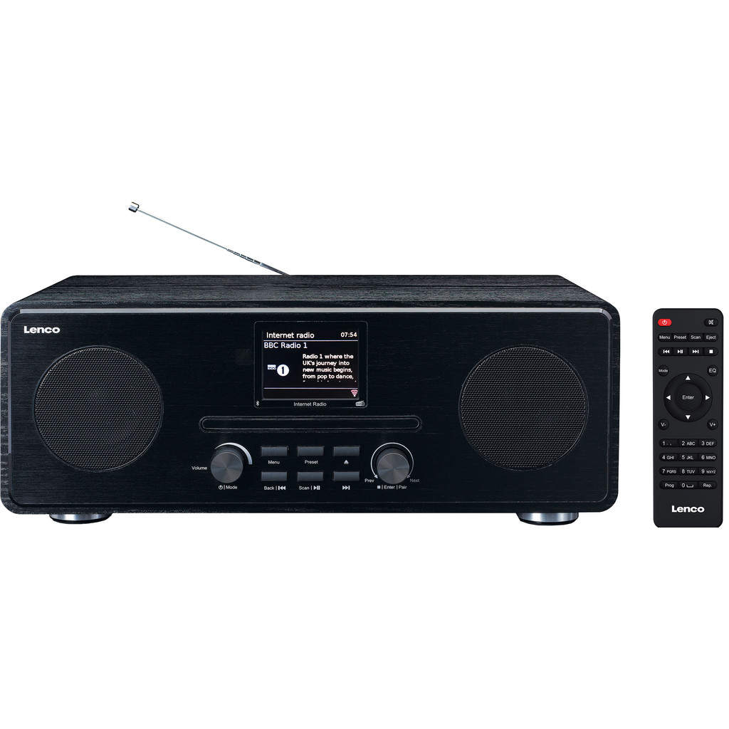 Lenco DIR-260 internetradio DAB+ FM CD Bluetooth