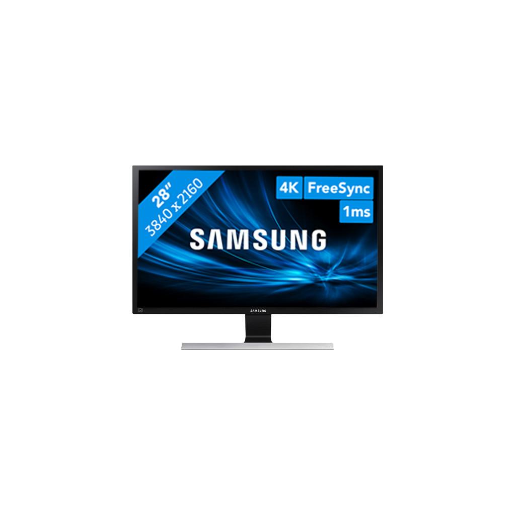 Samsung LU28E570DS/EN-28 inch  3840 x 2160 resolutie  DisplayPort, HDMI, hoofdtelefoon  TN paneel  1 ms reactietijd
