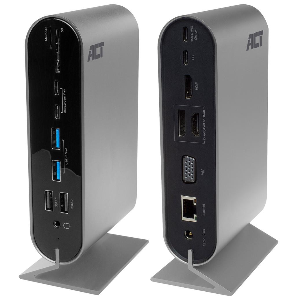Tweedekans ACT USB-C 4K Multiport Dock