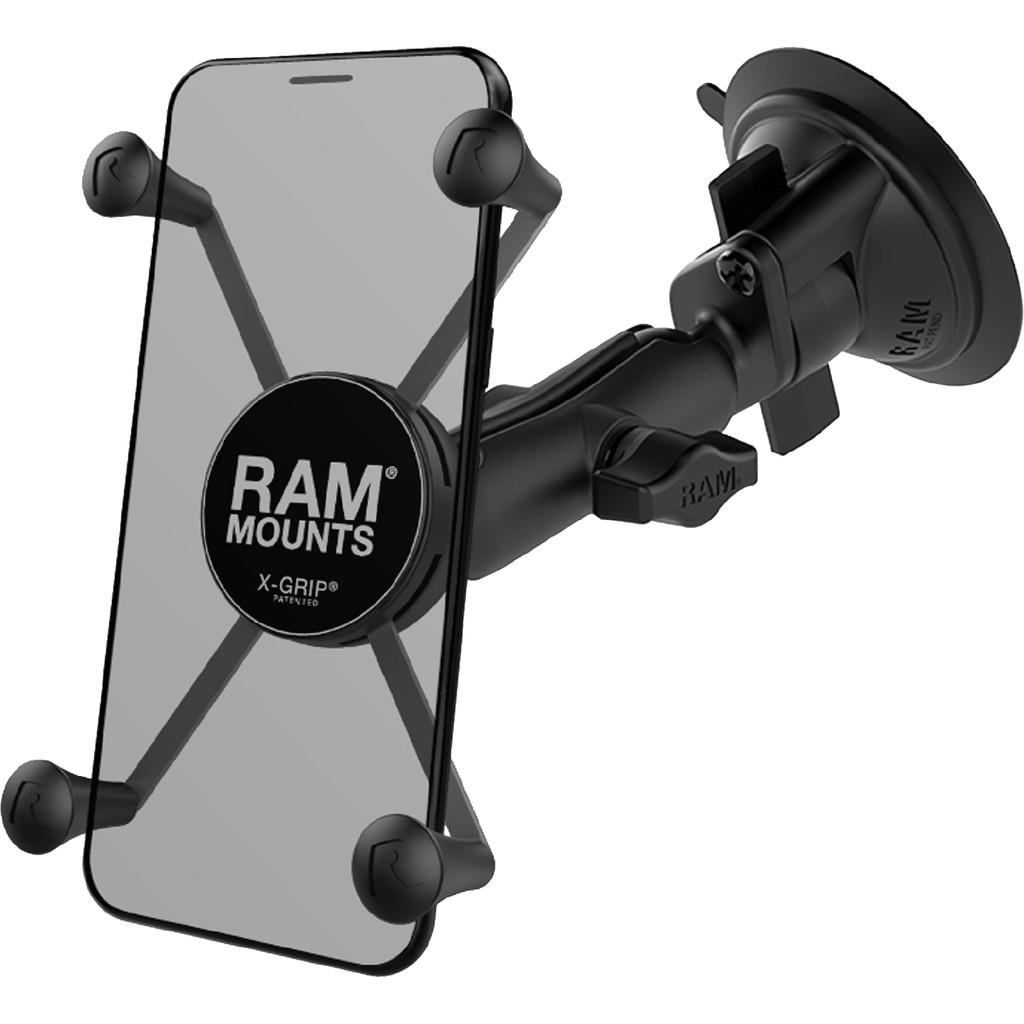 RAM Mounts Universele Telefoonhouder Auto Zuignap Voorruit-Dashboard Groot