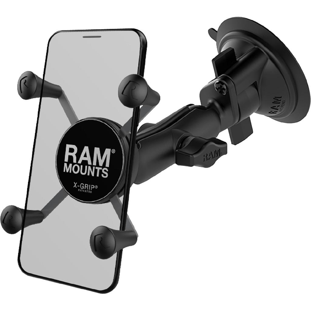RAM Mounts Universele Telefoonhouder Auto Zuignap Voorruit-Dashboard Klein