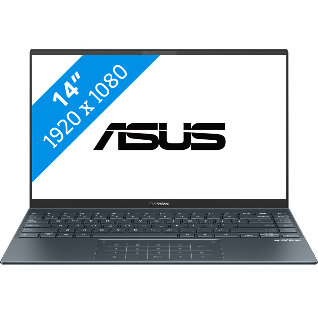 Asus UX435EAL-KC047T i7-1165G7-14 -16GB-1TBSSD-W10-IrisXE Q1-2021