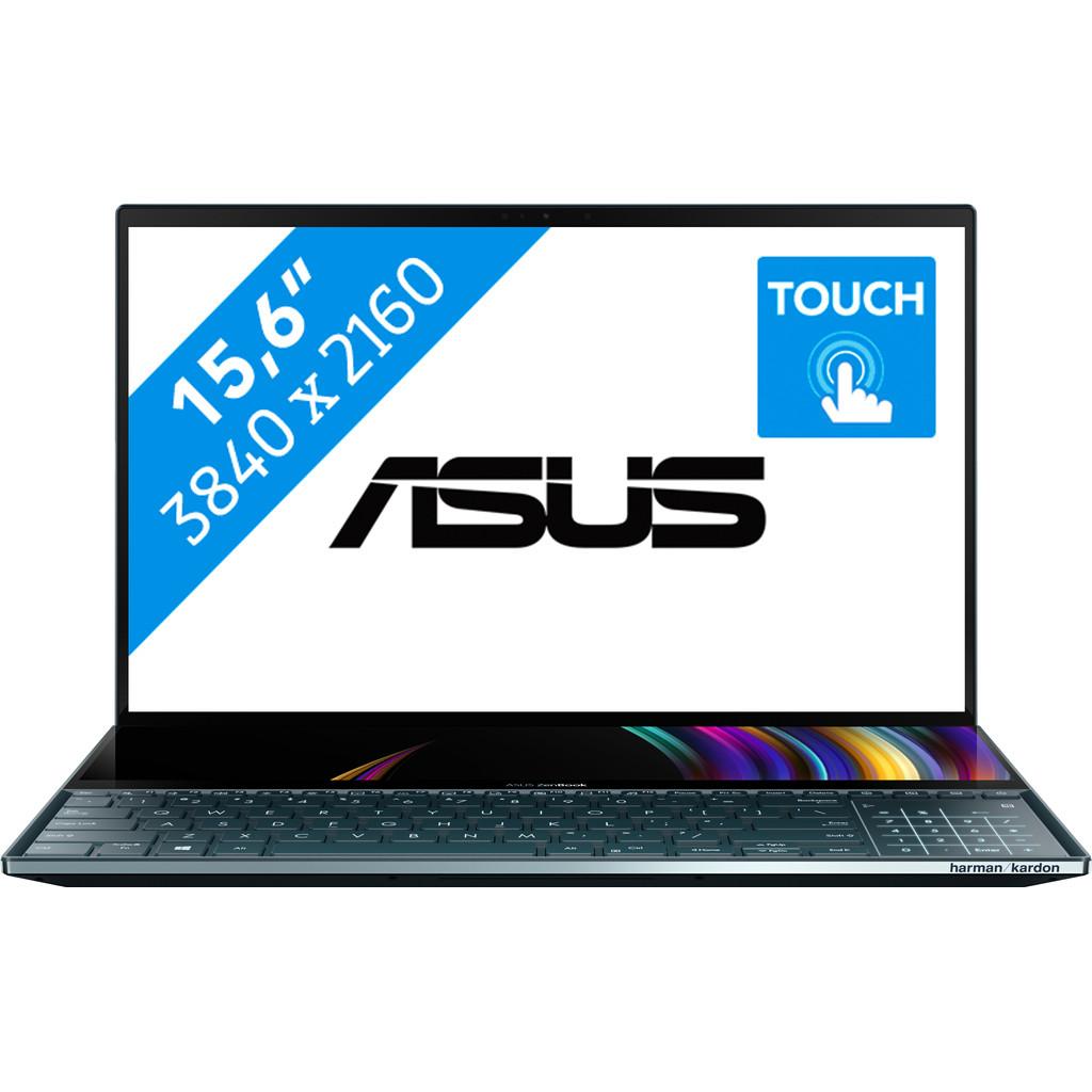 Asus ZenBook Pro Duo 15 OLED UX582LR-H2002R-Krachtig genoeg voor video's bewerken  Intel Core i9 - 32GB - 1TB SSD   NVIDIA GeForce RTX 3070 videokaart