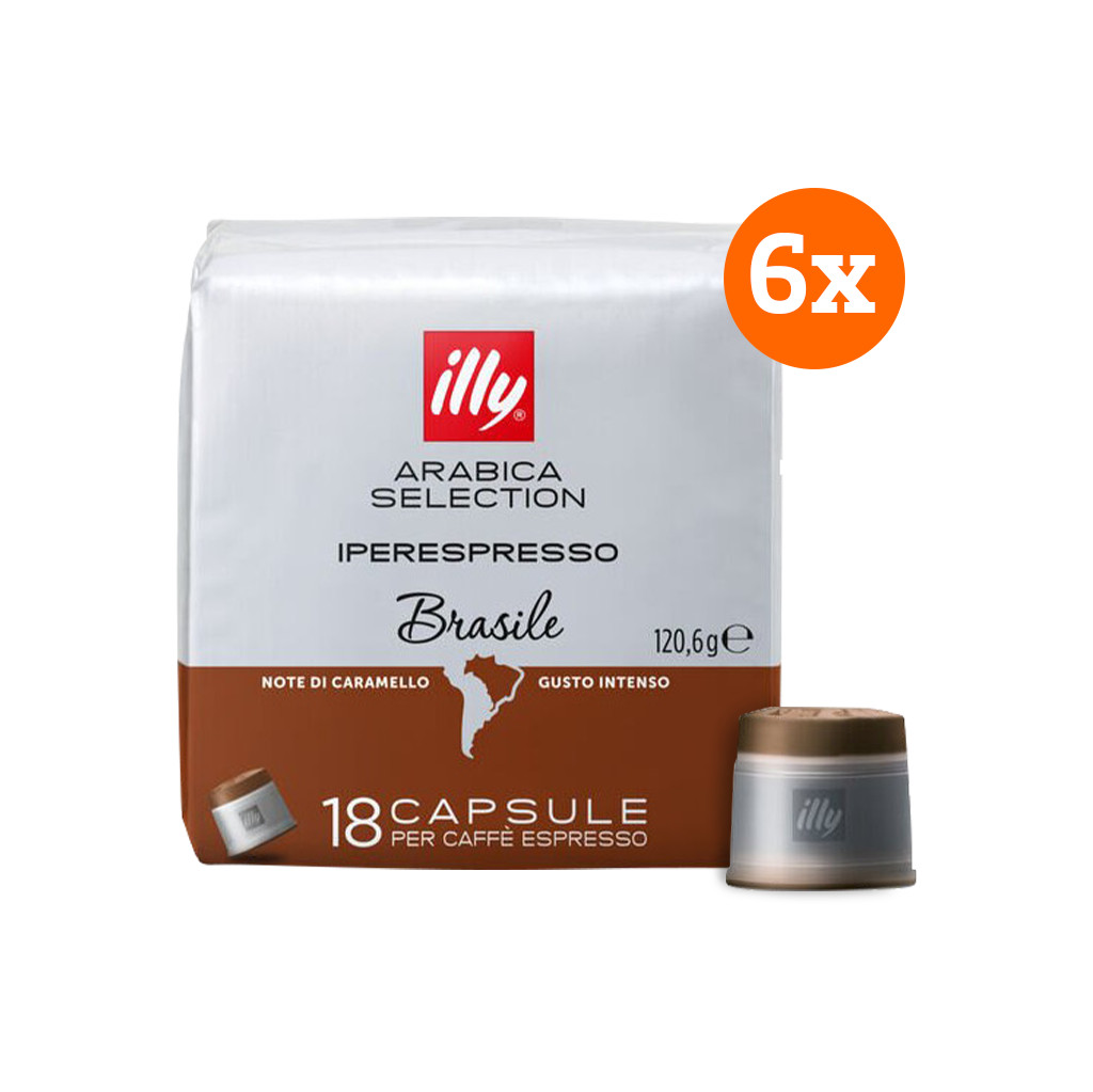 Illy IPSO home Brazil 108 capsules