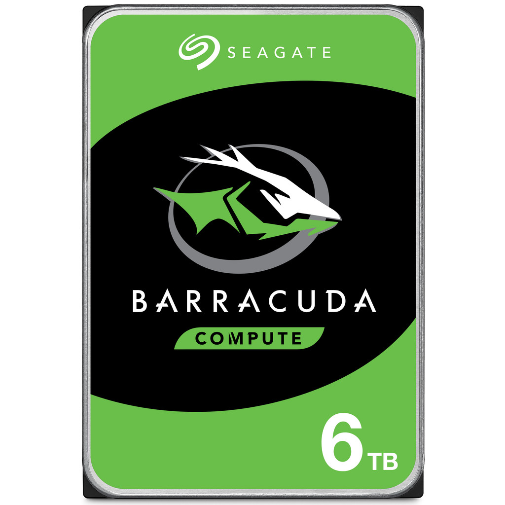 Seagate Barracuda Compute, 6TB, 3.5 , S