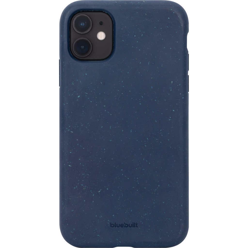 BlueBuilt Biologisch Afbreekbare Apple iPhone 11 Back Cover Blauw