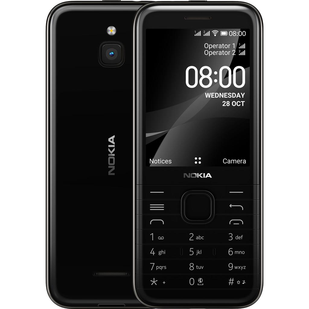 Tweedekans Nokia 8000 Zwart 4G