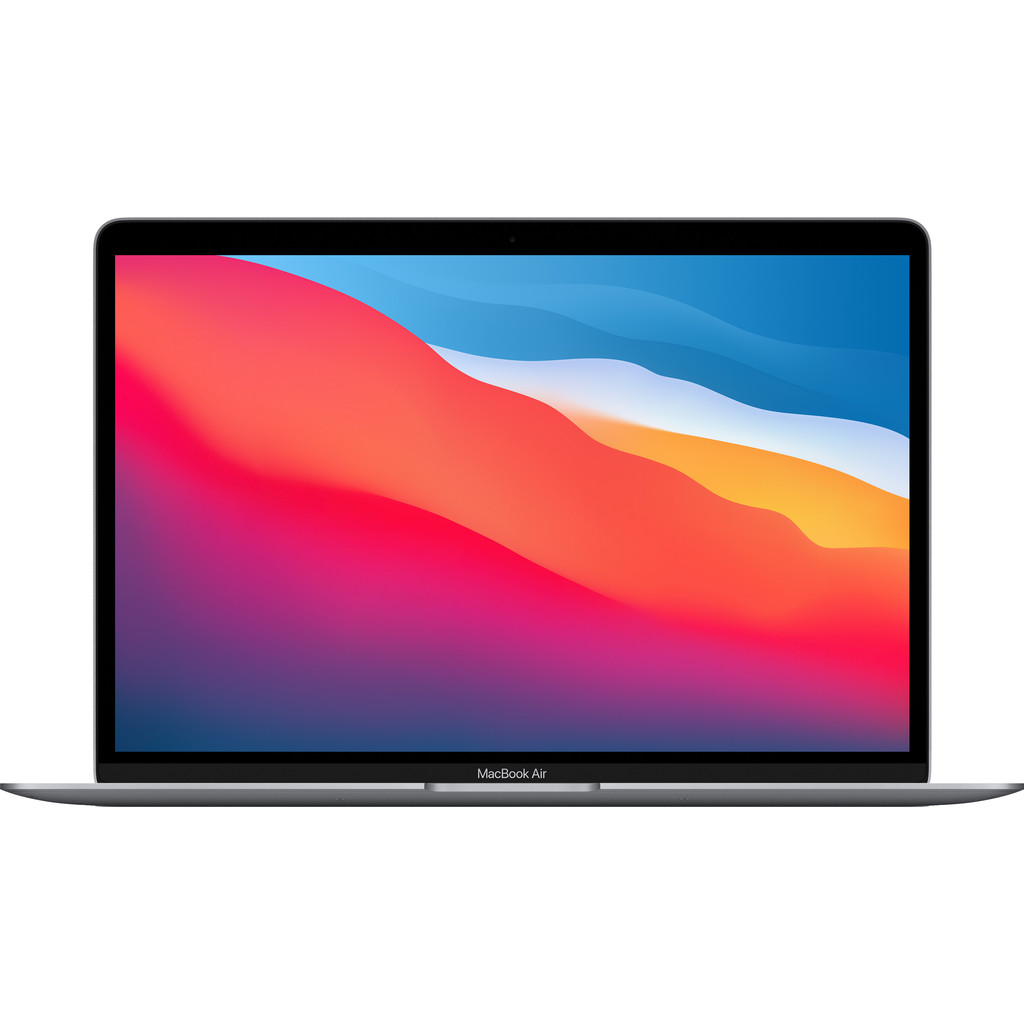 Tweedekans Apple MacBook Air (2020) 16GB/512GB Apple M1 met 8 core GPU Space Gray