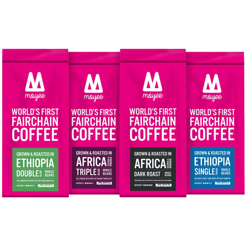 Moyee Proefpakket Arabica koffiebonen 1 kg