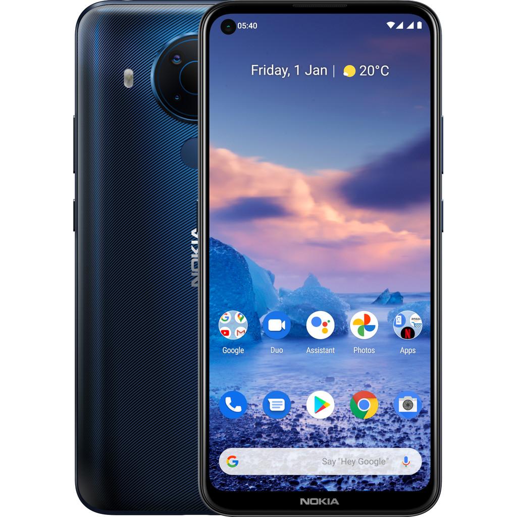 Tweedekans Nokia 5.4 64GB Blauw Tweedehands