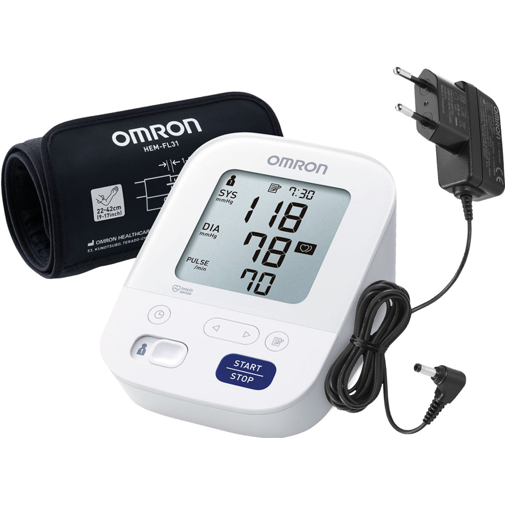 Omron X3 Comfort + AC Adapter