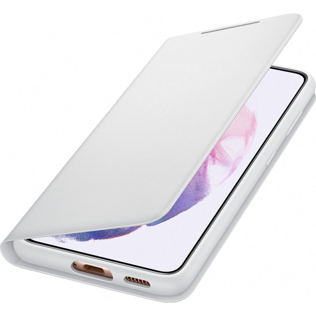 Tweedekans Samsung Galaxy S21 Led View Book Case Grijs