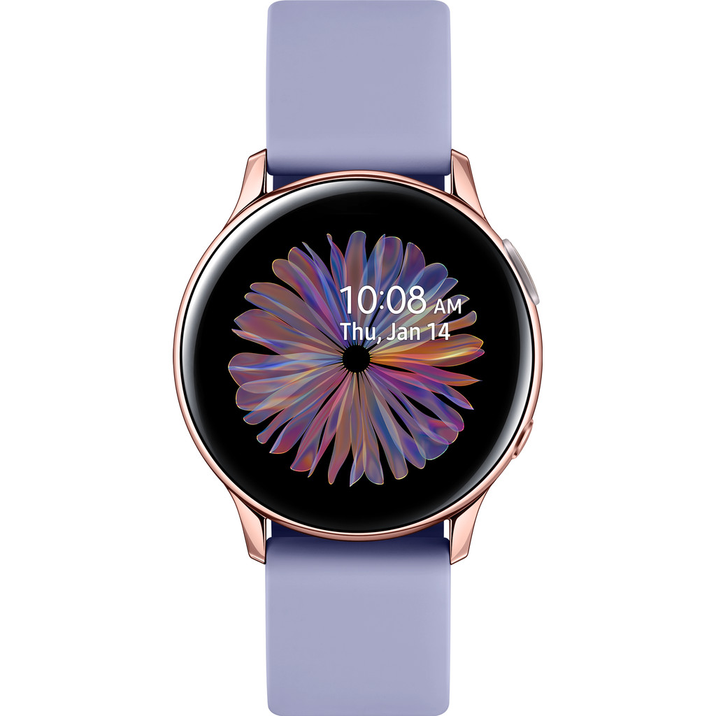Tweedekans Samsung Galaxy Watch Active2 Roségoud/Paars 40 mm Aluminium