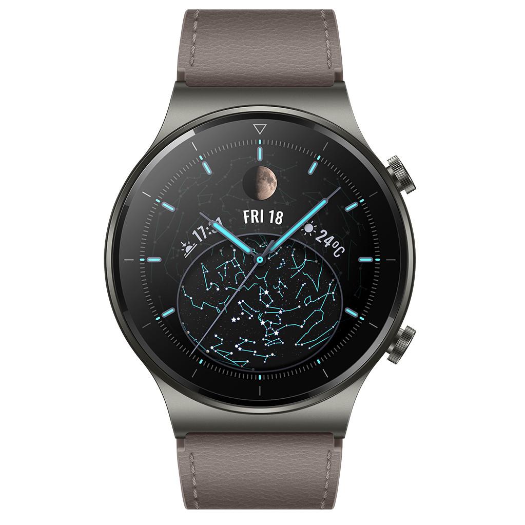 Tweedekans Huawei Watch GT 2 Pro Grijs/Bruin 46mm