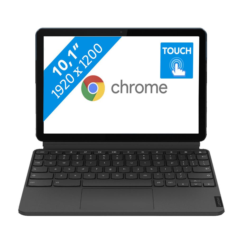 Tweedekans Lenovo IdeaPad Duet Chromebook Tablet 128GB- ZA6F0063NL Tweedehands