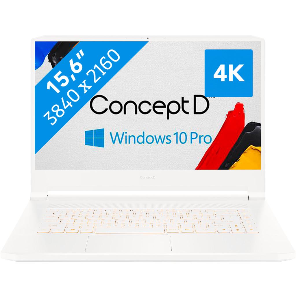 ConceptD 7 CN715-72G-785Q-Krachtig genoeg voor gaming  Intel Core i7 - 16GB - 1TB SSD  NVIDIA GeForce RTX 2080 Max Q videokaart